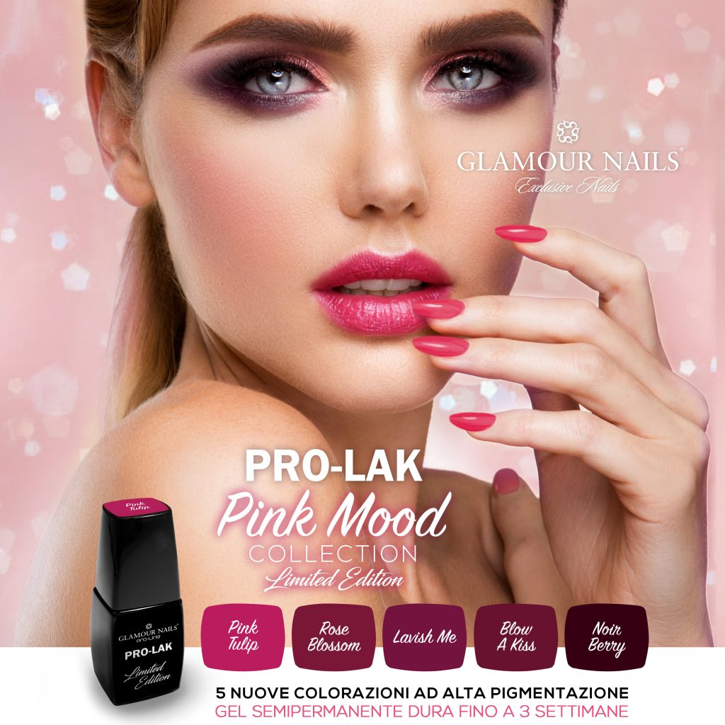 PRO-LAK - PINK MOOD Collection - LIMITED EDITION